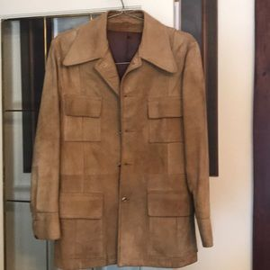 Suede Canadian made jacket